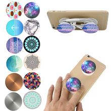 New Beautiful pop socket Expanding Grip Stand phone Holder Mount for iphone 6 7 5 Samsung LG HTC Stretch Finger holder Popsocket