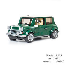 Lepin Technic creator 21002 MINI Cooper Volkswagen T1 Beetle Convertible rc car-styling Building Blocks fun Toys For Children