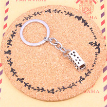 New Fashion Car Keychain  Silver Color Metal Key Chains Accessory, Vintage bus car Key Rings