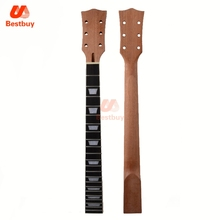 22 Fret Guitar Neck open sattin LP Mahogany Rosewood fingerboard sector and binding Inlay for LP Electric