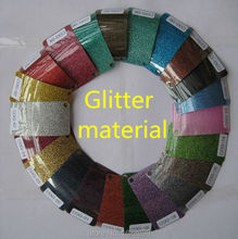 CDG-15 Multi color Wholesale Korea Heat transfer glitter flex vinyl size: 50cm*200cm