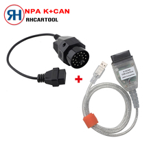 Car Stlying for BMW INPA K can inpa k dcan USB OBD2 Interface INPA Ediabas for BMW with 20pin Connector!!! 20 pin Free Shipping
