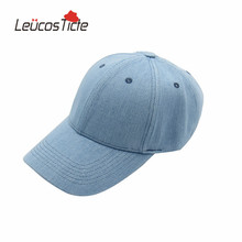 LeucosTicte 2017 Cotton Cap Men and Women Jeans Color Fashion Baseball Caps Vintage Hat Travelling Sun Hats 3 Colors for Choose(China)