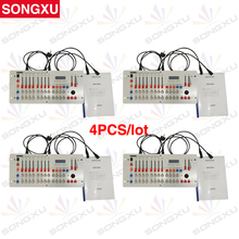 SONGXU 4pcs/lot 24 Channels Disco240 DMX Console For Disco DMX Nightclub Party Bar DJ Controller/SX-DISCO240(China)