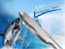 Stainless steel fish picks scraping machine kitchen seafood crackers picks tools(China)