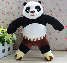 30cm=11.8inch Original Cartoon Kung Fu Panda 3 Stuffed Animal Toy,Panda Plush Toy  Soft Doll For Kids Gift,Free shipping