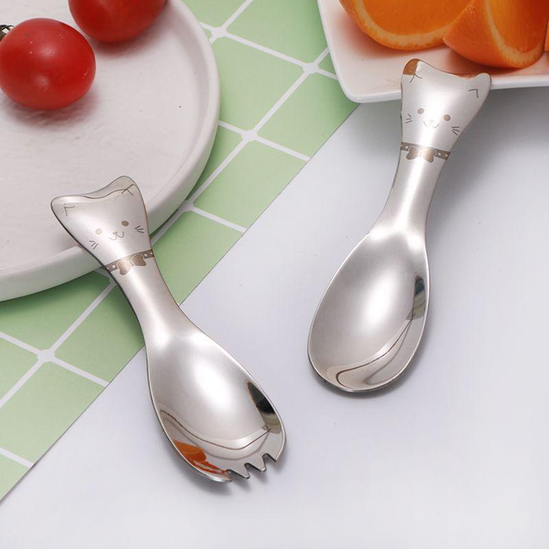 1PC-Cats-Spoons-Forks-Kids-Tableware-Stainless-Steel-Spoon-Fork-Children-Dessert-Ice-Cream-Cartoon-Dinnerware (1)