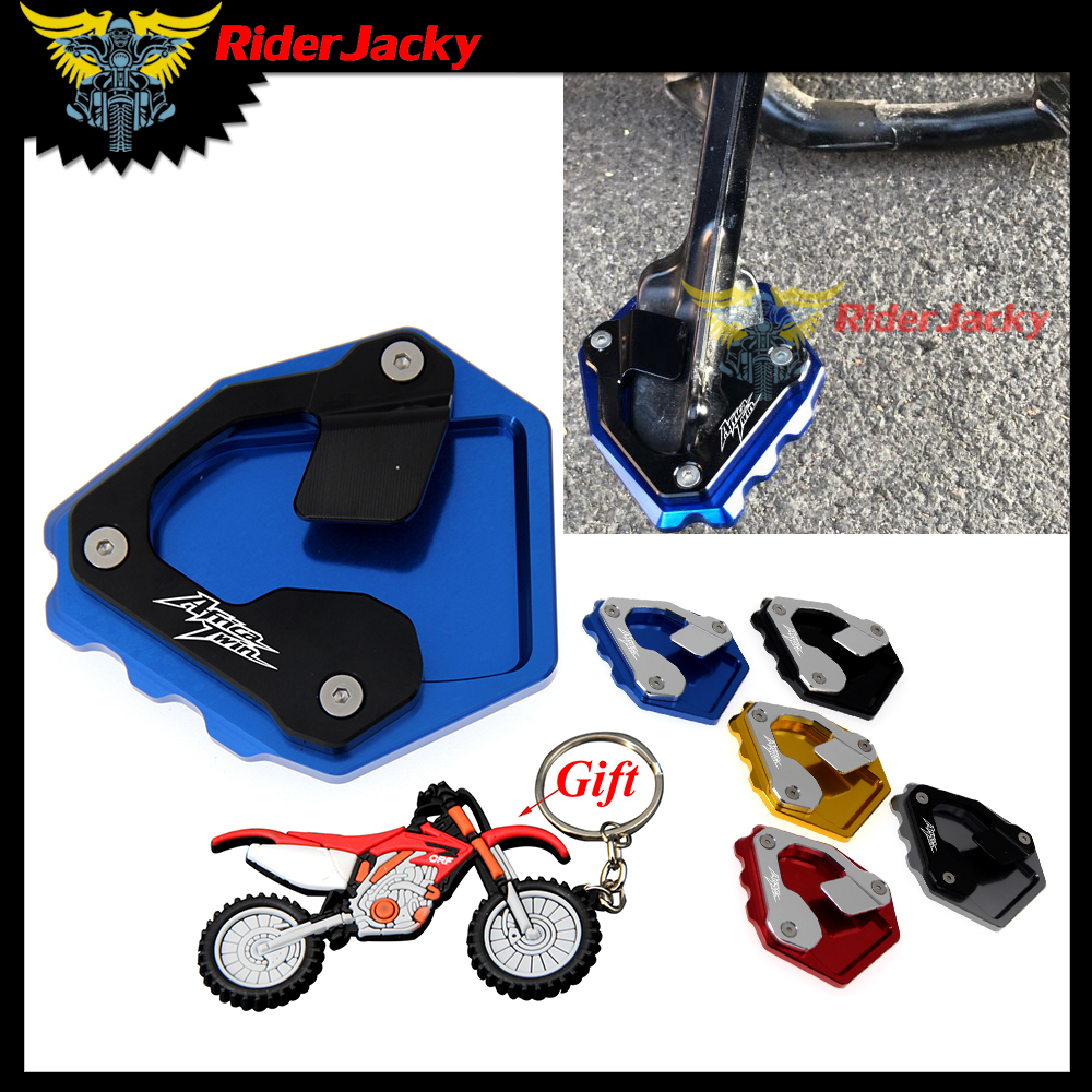 Kickstand Side Stand Enlarger Plate Extension Pad For Honda CRF1000L Africa Twin