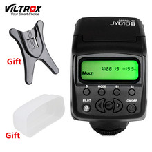 VILTROX JY610II Mini Universal LCD Flash Speedlite Light + Diffuser + Flash Stand for Canon Nikon Pentax Sony a7m2 a7r2 a7s2 a7(China)