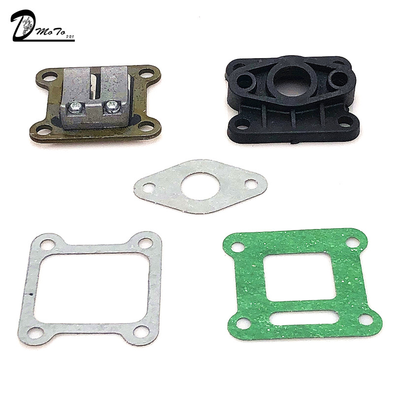 47cc 49cc Carburetor Reed Valve Mainfold Kit for pocket bike Mini ATV/Dirt bike