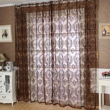 Ouneed European Classical Style Tulle Window Screens Balcony Curtain Panel Sheer Scarfs Happy Sale ap503