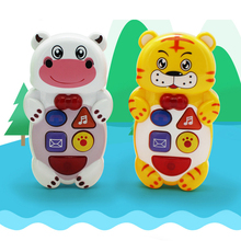 1pc High Quality Animals Stories with LED Light Baby Learning Machines Children Early Educational Games Kids Musical Toys
