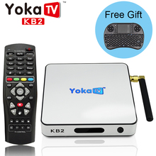 Yokatv KB2 Android Tv Box+i8 Mini Keyboard Amlogic S912 Octa Core 2G/32G Android 6.0 Smart Media Player 4K 2K WiFi Bluetooth 4.0
