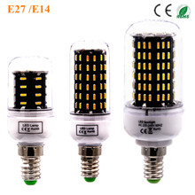 led Lamp High Bright LED E14 Bulb Corn 220V 4014 SMD 138LED 96LED 72LED  36LED LED Ceiling Spot Light