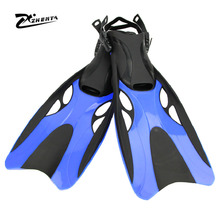 High quality Diving fins professional swimming shoes scratch monofin mergulho scuba natacion diving boots Diving flippers