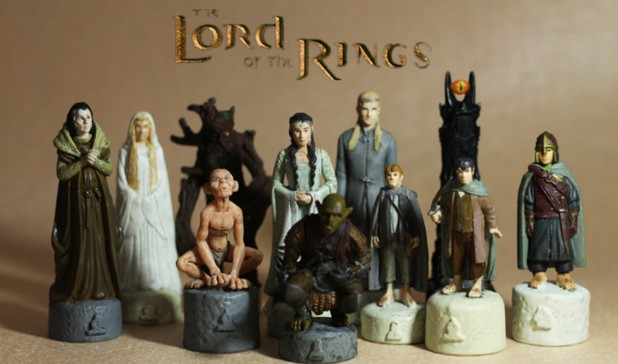 pvc figure SimulationThe simulation model toy  Lord RING Chess board game chess hand model ornaments 11pcs/set<br><br>Aliexpress