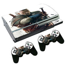 Skin sticker for sony playstation 3 PVC vinyl cover decal for ps3 console for ps3 controller sticker for ps 3