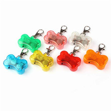 New Qualified Pet 2x Pet Safety LED Flashing Dog Collar Light Tag Keychain Pendant  Levert Dropship dig6412