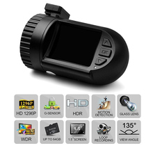 Car Camera Dash Cam Camera mini 0805 Ambarella A7LA50 Registrator with Battery G-sensor GPS Black Box Dashcam SuperHD 1296P