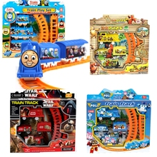 Hot Sale Star Wars Thomas Train Track Electric Railway Rail Elsa Robot Children's Educational Toys Electric With Nice Package