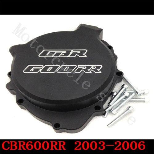 Fit for Honda CBR600RR CBR600 F5 2003 2004 2005 2006  Motorcycle Engine Stator Cover Black Left side<br>