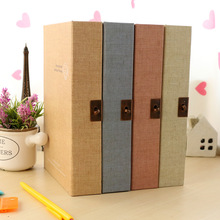 32k Pure Secret Life Boxed Diary Journal Book Notebook With A Lock Hardcover Case Box Outside Big Size Notebook 200page Book