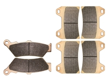 Brake Pads set for VICTORY 1500 cc : Arlen Ness & King Pin 2004 2005 / Hammer 2005 / Touring Cruiser 2003 2004 2005 2006
