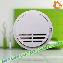 433MHz Wireless Smoke Alarm Fire Smoke Detector Sensor for Security System