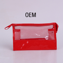 Candy Color Mesh Make Up Organizer Bag Women mac cosmetics Travel Bag Multi Functional Cosmetic Bags Makeup Bag Handbag OEM