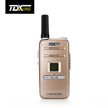 TDX Q7 Mini Professional Walkie Talkie 5W UHF 400-480MHz PTT Portable Ultra-Slim Two Way Radio Interphone 99 Channel 2-5km