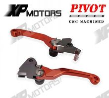 Variety Colors For KTM 450SMR 2009 Dirt Bike Motocross Flex Pivoting Brake Clutch Levers(China)