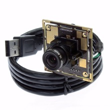 "USB camera 1/4"" cmos sensor OV5640 Mjpeg 5mp camera module for windows, android linux system USB2.0 PC camera"
