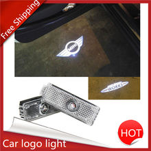 2x MINI Cooper One S R55 R56 R60 F55 F56 Countryman Clubman Door Laser Lamp Projector LED Lights Car Door Light For MINI Cooper