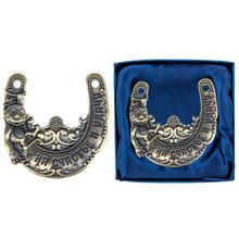 Unique gift box. horseshoes vintage horseshoes metal crafts and art for home decoration large horseshoe magnet