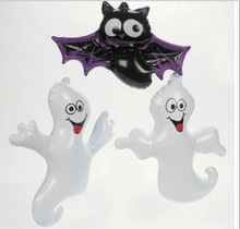 2016 Free Shipping Hot Sale Pvc Inflatable Ghost Animal Bat Toys For Children Event Items Halloween Decorations Party Supplies