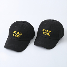 STAR GIRL and STAR BOY The Brand Design Dad Hat  2017 Baseball Caps Hip Hop for Men Women Embroidery Exclusive Distribution