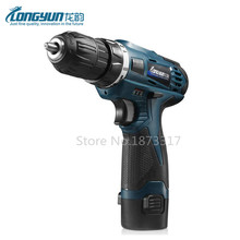 12V Electric Screwdriver Parafusadeira Furadeira Rechargeable Lithium Battery Multi-function Cordless Electric Drill Power Tools(China)