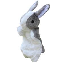 Cute Animal Plush Hand Puppets Toys For Kids Childhood Soft Toys Duck Shape Story Pretend Playing Dolls Children Gift