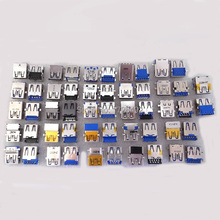3.0 USB Jack For Lenovo Acer Asus Samsung Dell HP Toshiba Sony Laptop USB connector 3.0 USB Socket Plug 26 model /26 pcs(China)