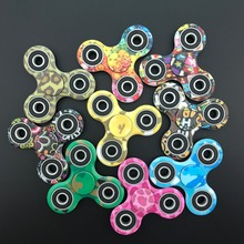 Buy 100pcs/lot DHL Colors Mixed Tri-Spinner Plastic EDC Hand Spinner Autism ADHD Fidget Spinner Long Time Anti Stress Toys for $179.55 in AliExpress store