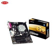 BIOSTAR J3160MP Motherboard For Intel Integrated Quad Core Celeron CPU Processor Board Kit Computer Motherboards Support DDR3(China)