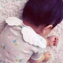 Baby Angel Wings Sweat Customized Towel 95% Cotton Fabric Sweatband Bibs Burp Cloths No Fluorescent Agent(China)