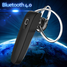 Mini Stereo Headset Bluetooth Earphone 4.0 Earhook Headphone Mini Wireless Handfree Universal for Samsung iPhone HTC Xiaomi PC