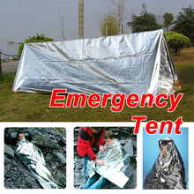 New Hot Sale Emergency Tent Tube Survival Camping Shelter Emergencies Sporting Outdoor Travel Kits