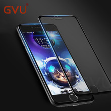 Buy GVU Tempered Glass iPhone 5 6 7 Plus 3D Edge Full Cover Screen Protector iPhone 6s 7 Seamless Covering Anti Glare Film for $1.44 in AliExpress store