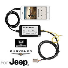 iPod/iPhone Aux Audio Input Car mp3 Player Music Adapter MP3 Interface for Chrysler Dodge Jeep(China)