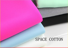 160cm width 480g/m weight Space cotton fabric Elastic air bubble compound cloth Free shipping TKM491