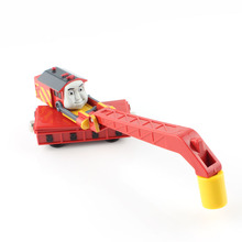 Kid's Thomas and friends trains the tanks engine track magnetic crane lifting tomas cars truck diecast models train toys nocky