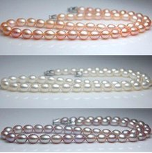 NICE MOTHER'S GIFT!!! 3 Color! Fashion Freshwater Pearl Necklace Hot Cheap for Beautiful Lady/Female, Nice Accessory Jewellery