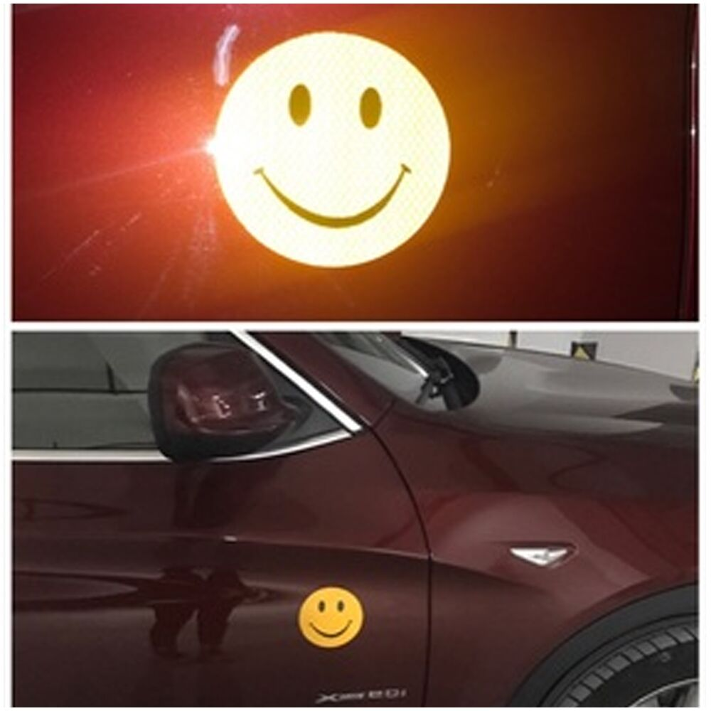 Sell Car Reflective Smiley Stickers